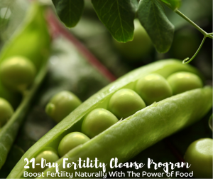 Fertility Cleanse Peas